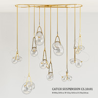 lindsey adelman catch suspension 3d max
