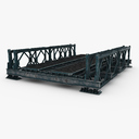 pedestrian bridge 3D models