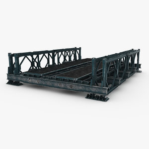 3d model bailey bridge construction