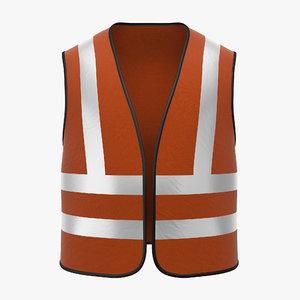 work vest 3d max