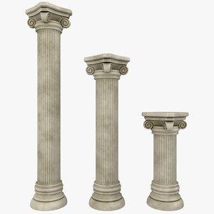 3ds column 01 3 sizes
