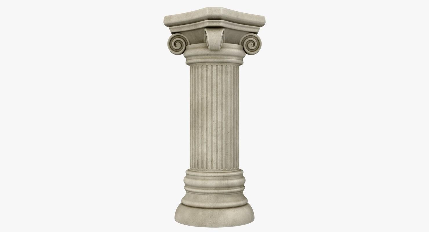 column 01 gray 3d 3ds