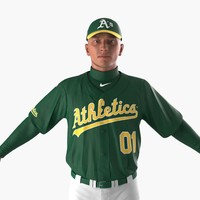 Baseball Player Athletics 2