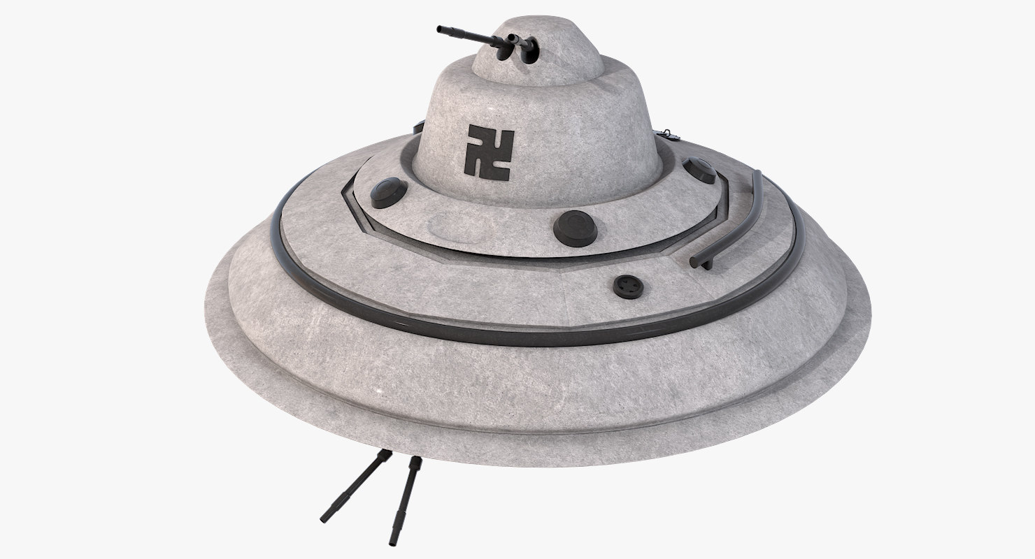 obj designs nazi flying saucer