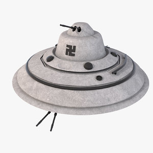 obj designs nazi flying saucer