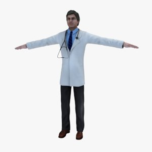 3d model doctor dae maps