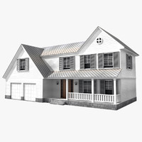 house american 3d max