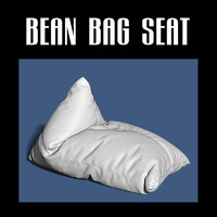 bean bag 3d obj
