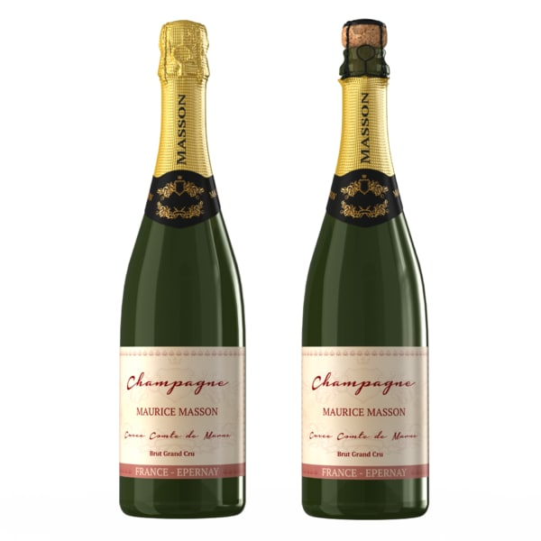 max champagne bottle