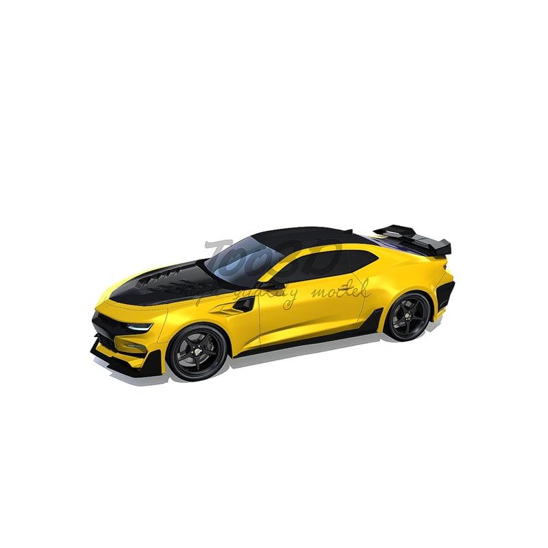 bumblebee bee 3d model