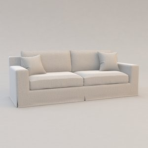 3d model pantaleria sofa christian liaigre