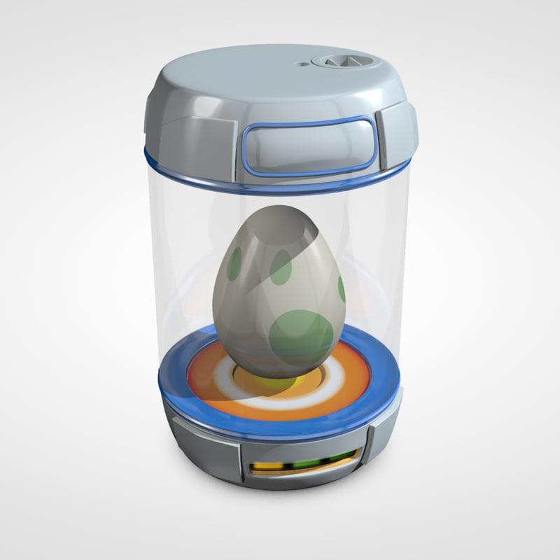 c4d egg incubator