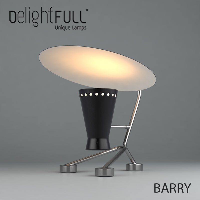 3d delightfull barry table model