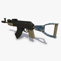 Post Apocalyptic Assault Rifle