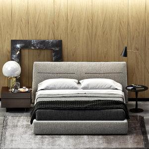 poliform jacqueline bed 3d model