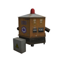 airport ground power unit 3d model
