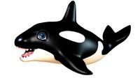 3d toy orca model