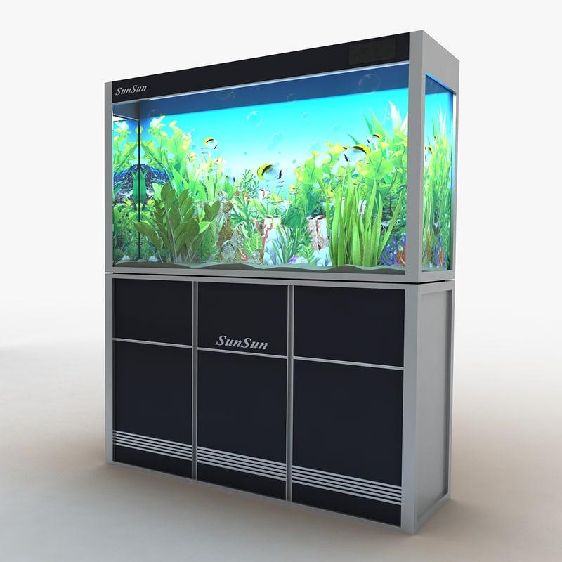 3d model of aquarium