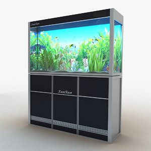 3d model of aquarium