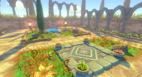 toon garden props 3d 3ds
