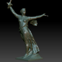 sculpture motherland 3d model