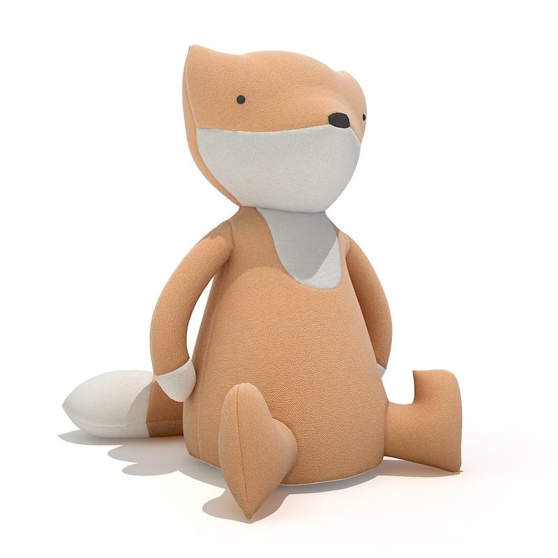 free obj model toy fox