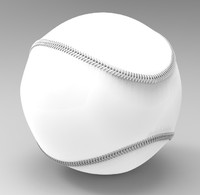base ball baseball 3d model
