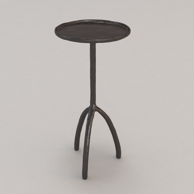 3d trepied table christian liaigre model