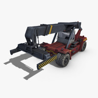 reach stacker c4d