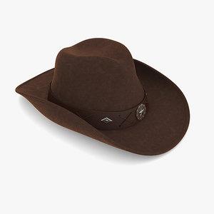 3ds cowboy hat