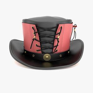 3d vested hat