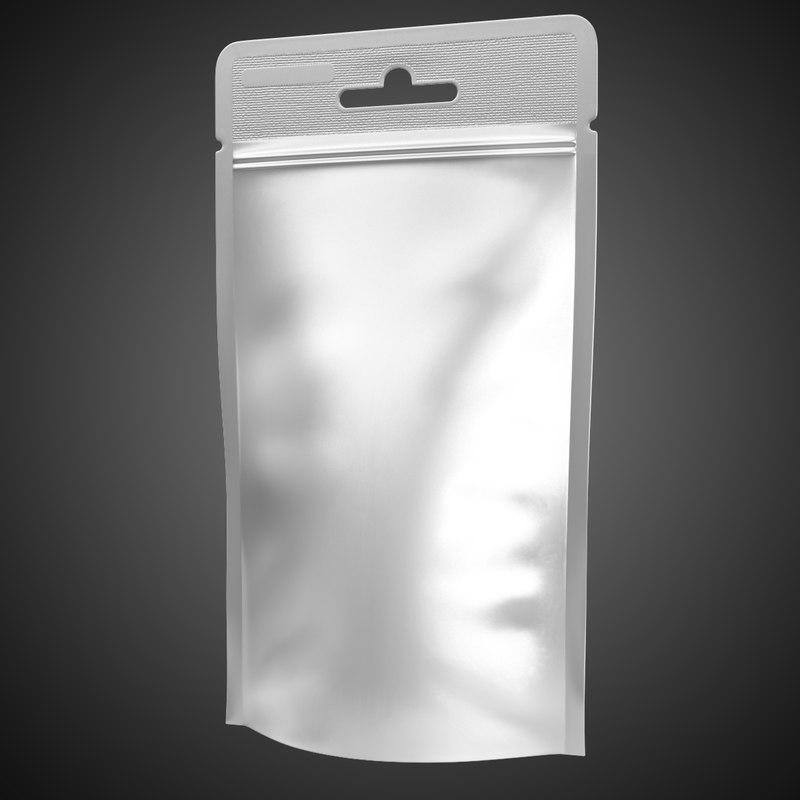 3d plastic pack sachet