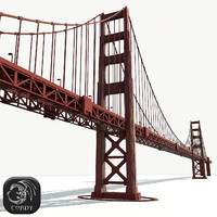 golden gate bridge 3d 3ds