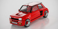 renault 5 turbo 3d model