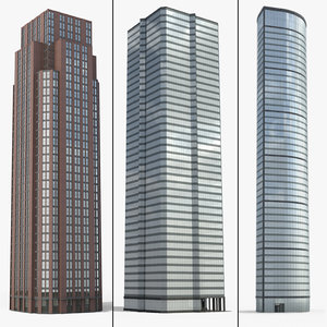 tall building obj