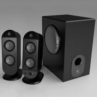 Logitech X-230 2.1 Speaker System