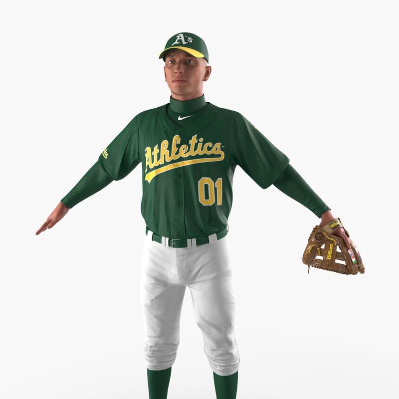 baseball player athletics 3ds