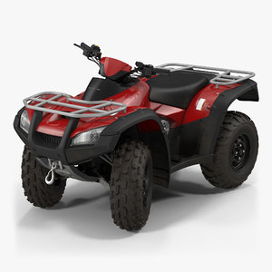 atv bike generic rigged 3d model