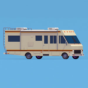braking bad rv 3d model