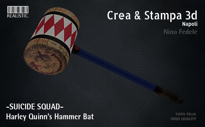 suicide squad bat 3d model
