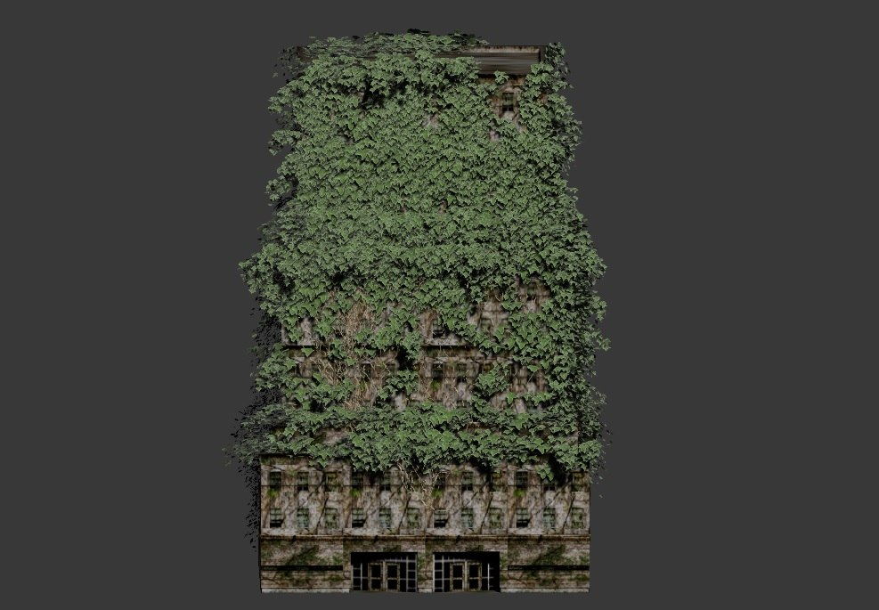 3d model ivy building