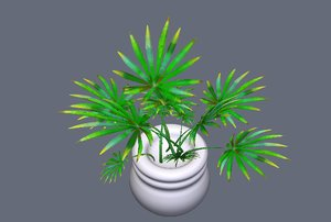 flower pot obj free