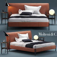 bed molteni nick obj