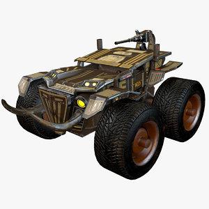 3d combat truck car