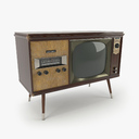Vintage Olympic TV Console