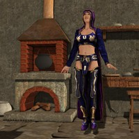fantasy poser clothing v4 pz3