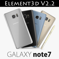 Element3D V2.2 Samsung GALAXY Note 7