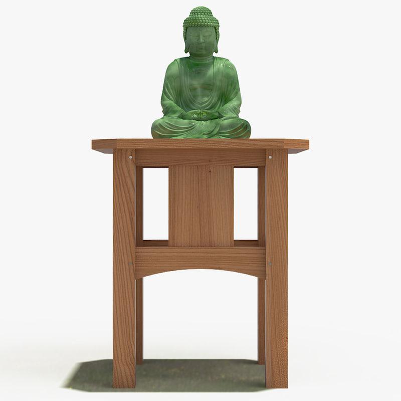 3d model of buddha 1
