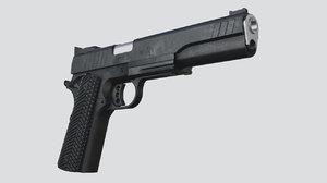 10 remington r1 3d fbx
