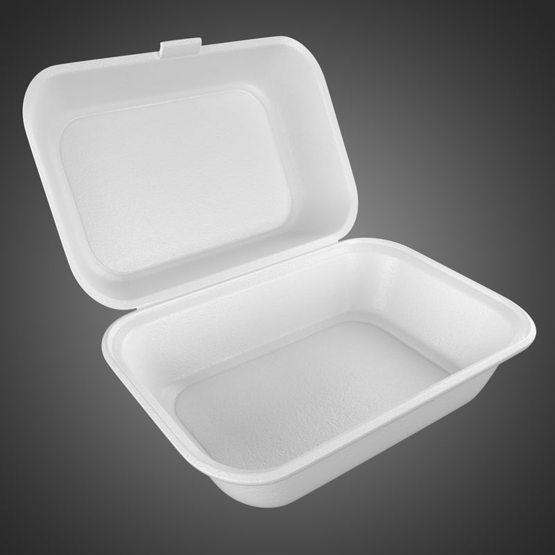 disposable container styrofoam max